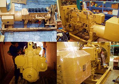 Remisión y reparación de maquinaria pesada